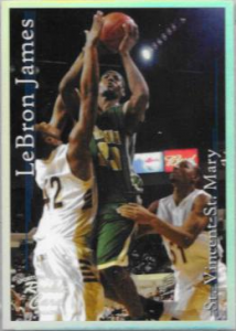 Lebron James Rookie Card