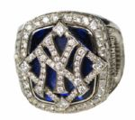Alex Rodriguez 2009 New York Yankees World Series Ring (Additional Yankee issued Players Ring) With LOA
