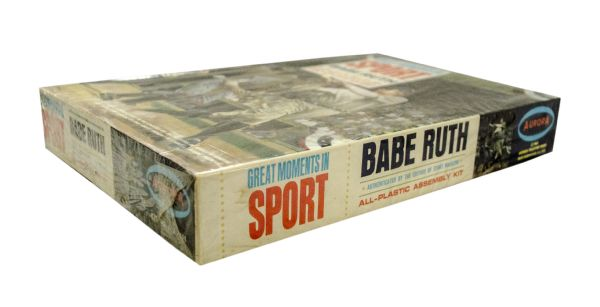 Babe Ruth 1965 Aurora Model Kit (unopened)