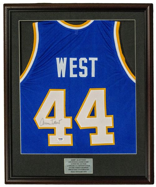 the best attitude 14ee1 43ec8 Lot Detail - NBA Framed Autographed Jersey Lot of (3 ...