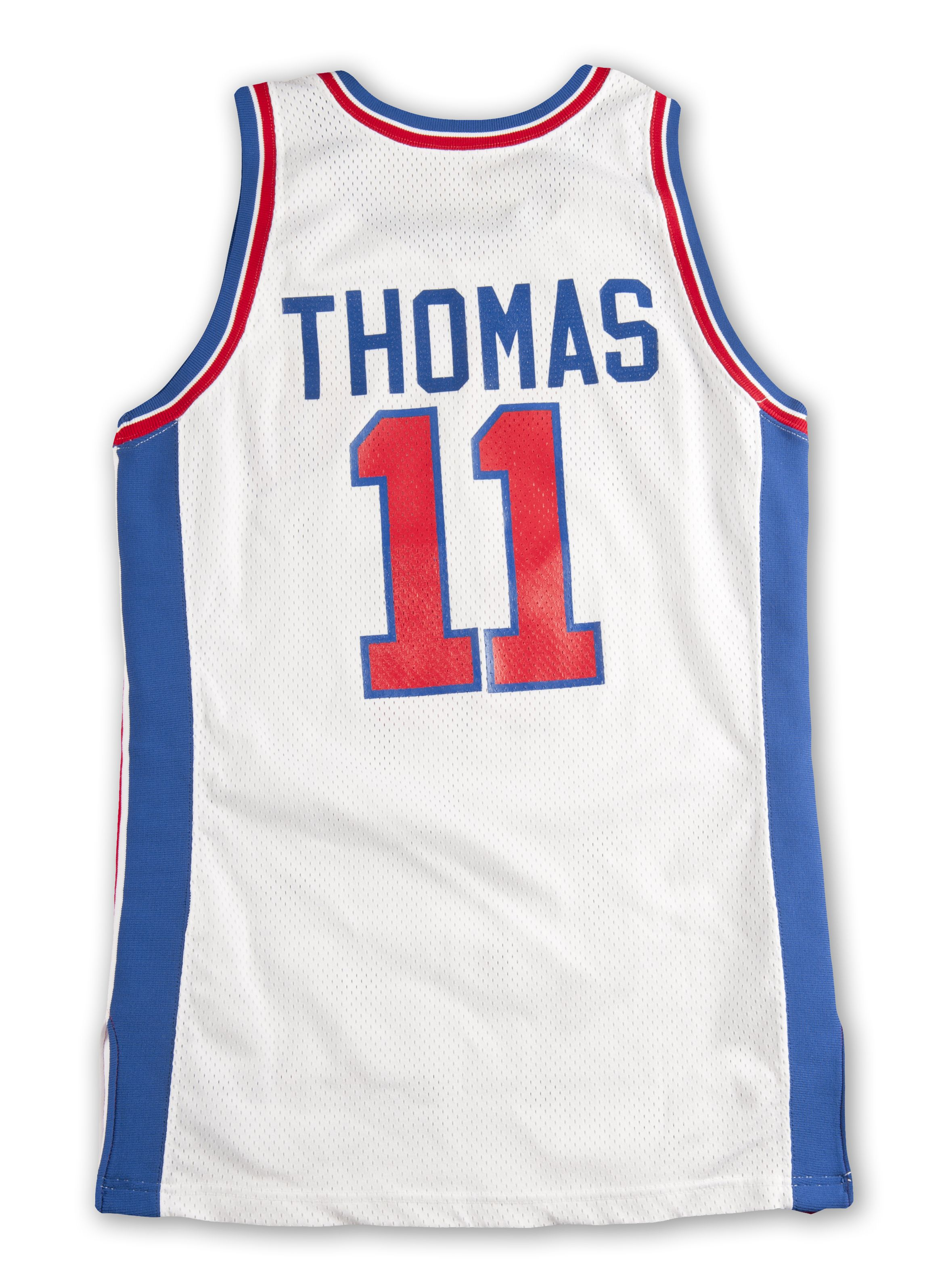 292fcd06f Lot Detail - 1993 Isiah Thomas Detroit Pistons Game Worn and Signed ...