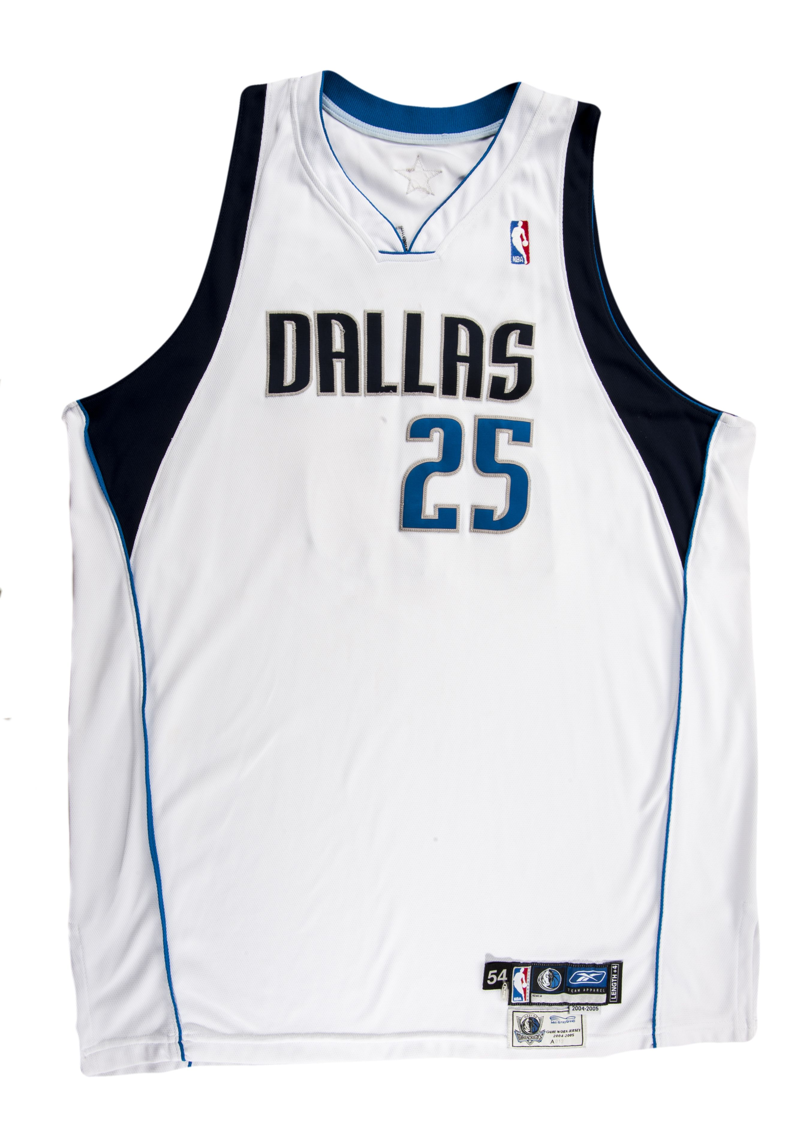dallas mavericks number 25