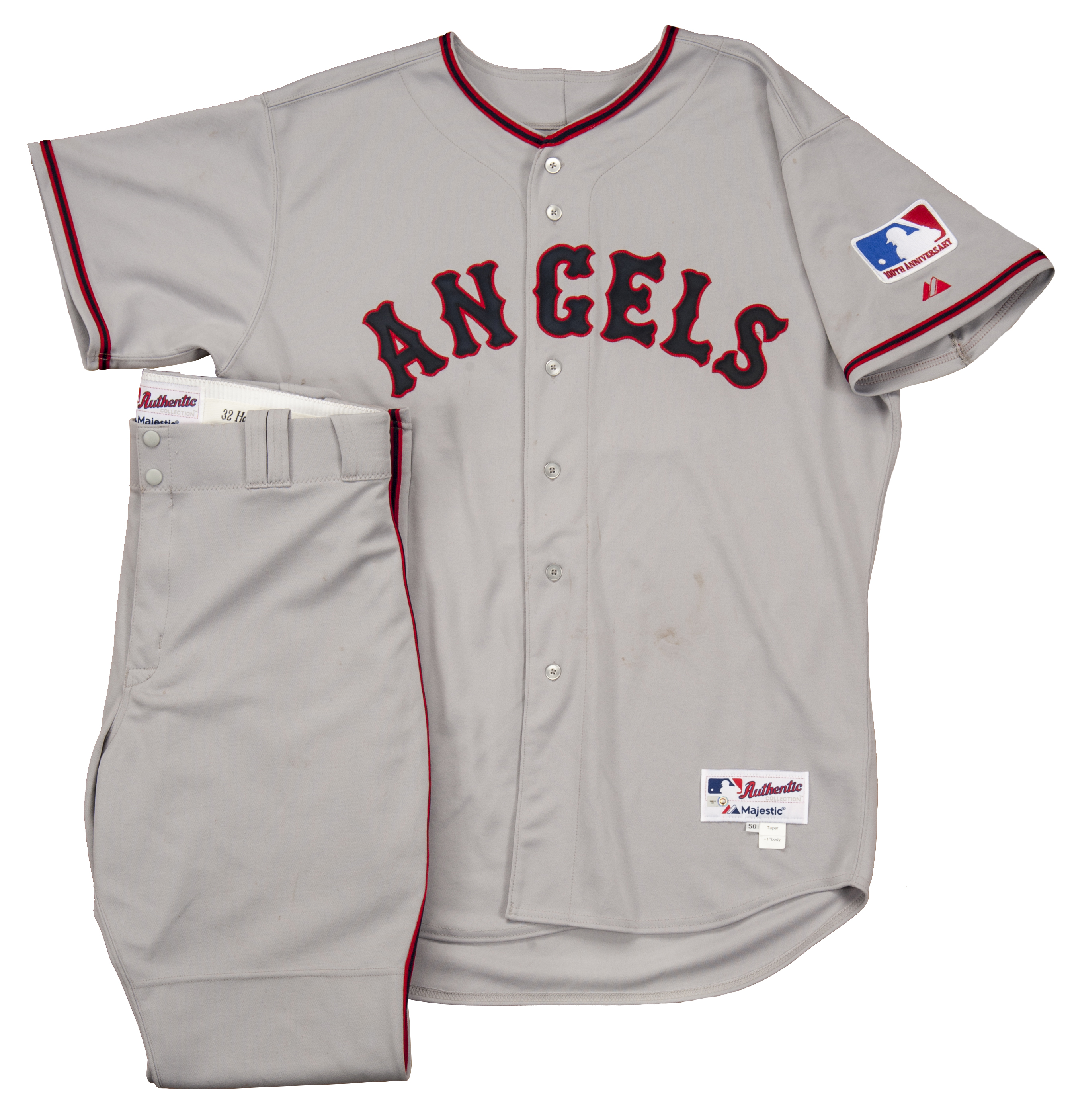 ... Cool Base Jersey 2013 Josh Hamilton Los Angeles Angels Game Worn Josh  Hamilton Los Angeles Angels Majestic Alternate 6300 Player Authentic ... 4649d383a
