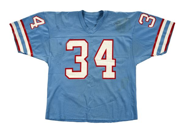 finest selection f83b2 97259 Lot Detail - 1980-84 Earl Campbell Houston Oilers Game Worn ...