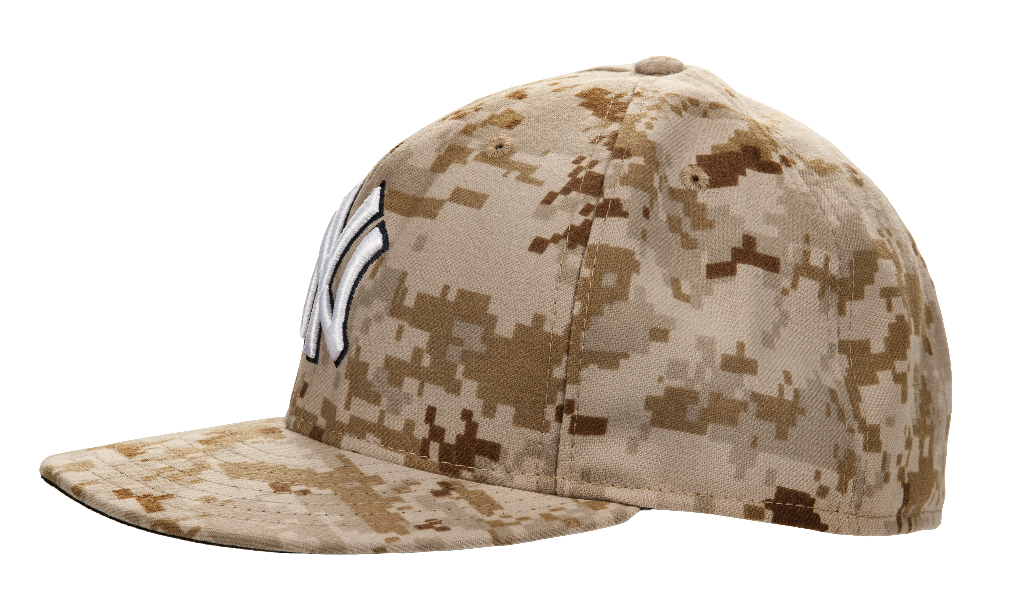 384f2183473 Lot Detail - 2014 Mariano Rivera Game Worn New York Yankees Memorial Day  Camouflage Cap (MLB Authenticated)