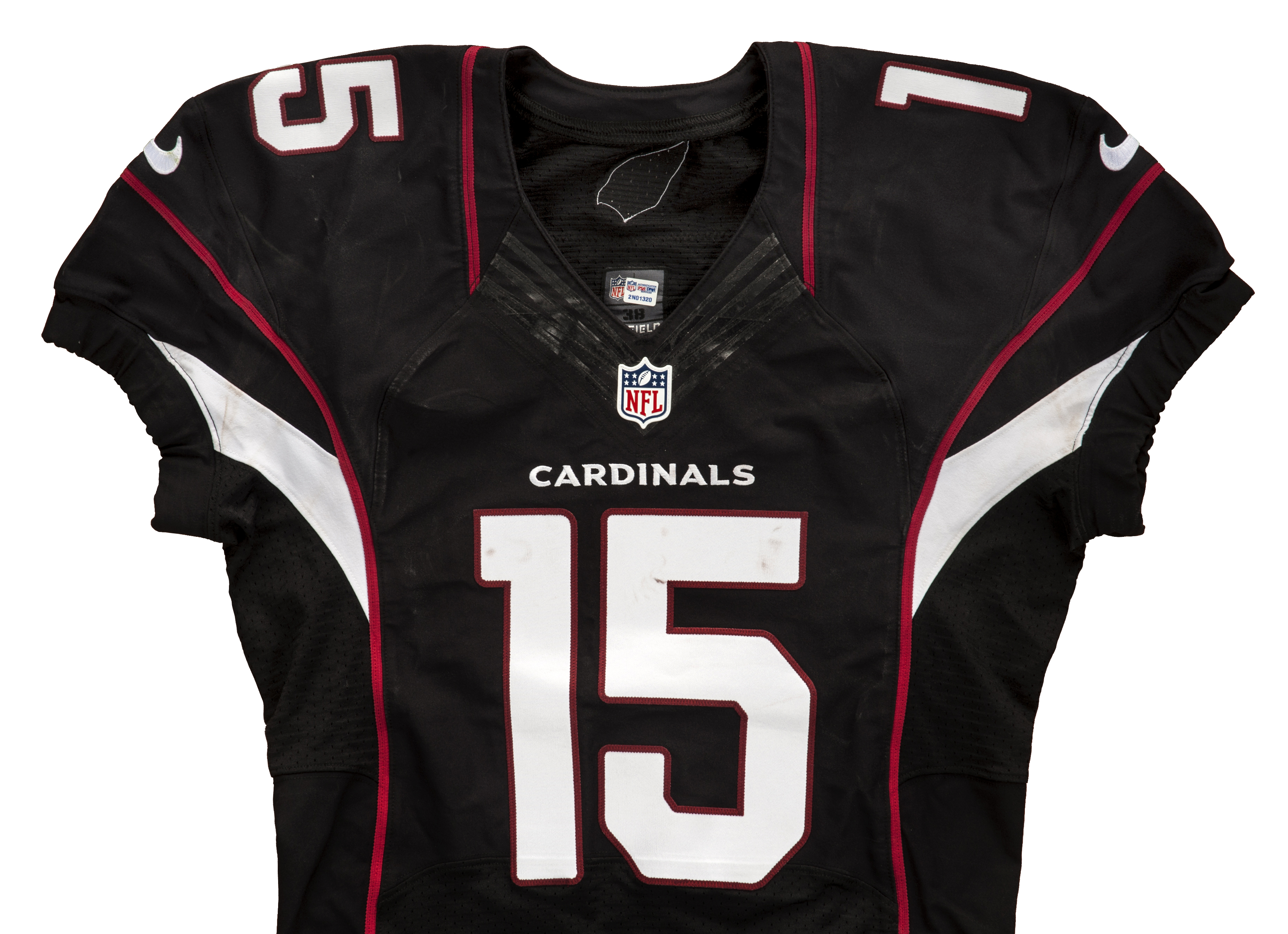 2013 Michael Floyd Game Worn and Signed Arizona Cardinals Jersey (NFL  Auction PSA DNA) bfa0167d3
