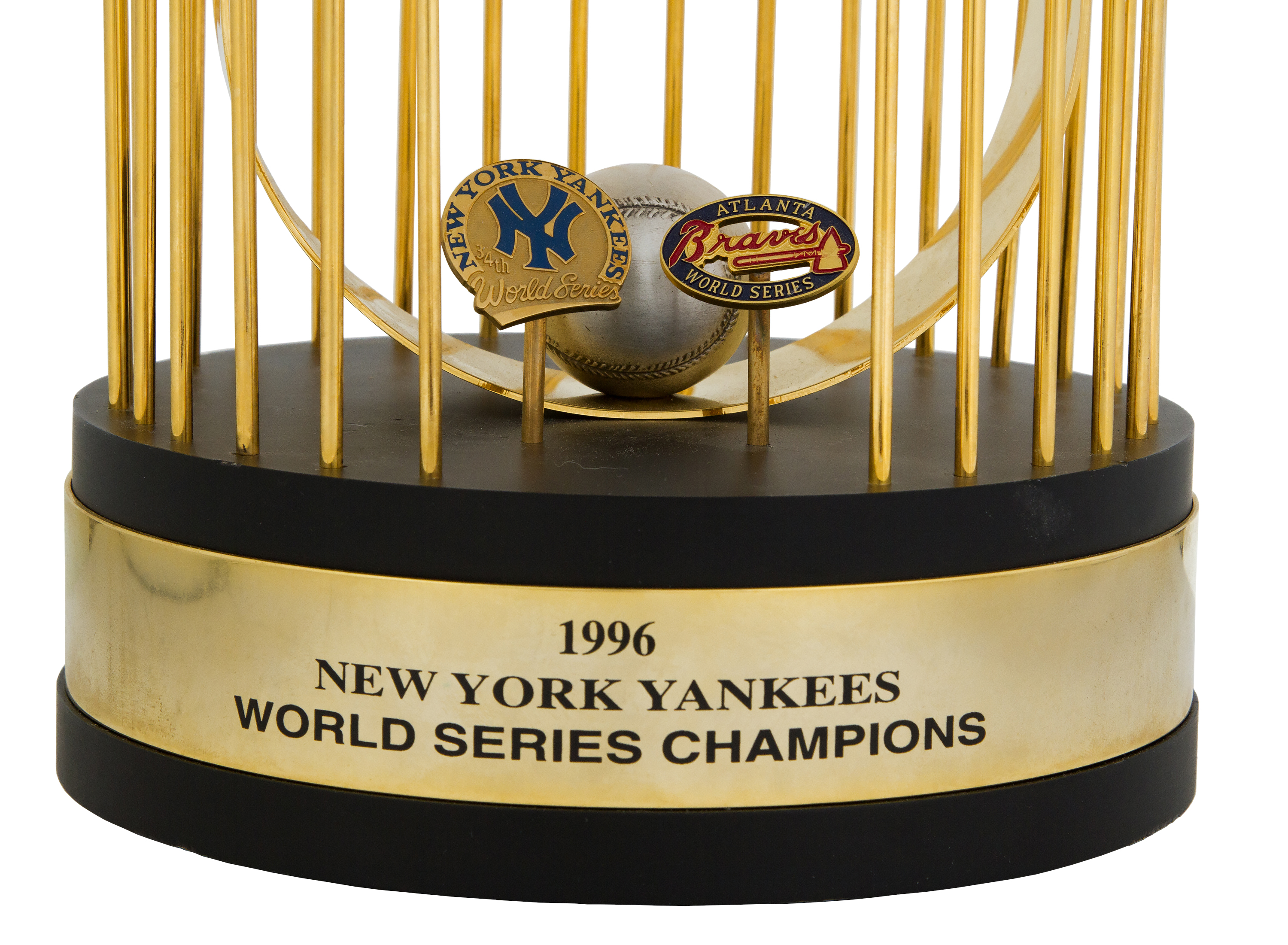 Lot Detail - 1996 New York Yankees World Series Trophy ...