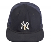 Mickey Mantle Personally Owned And Used New York Yankees Hat (Mantle LOA) (Coach and Old Timers)