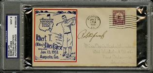 Bobby Jones Signed Augusta National Golf Club Robert T. (Bobby) Jones Course First Day Cover