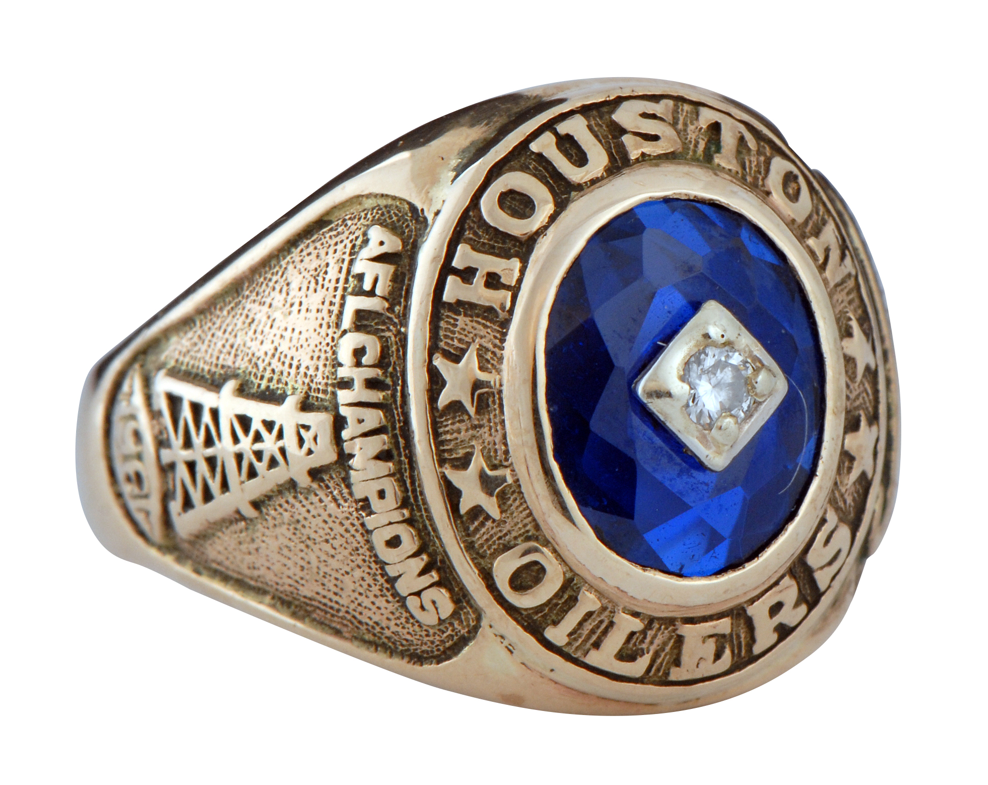 Lot Detail 1961 Houston Oilers Afl Championship Ring Novak