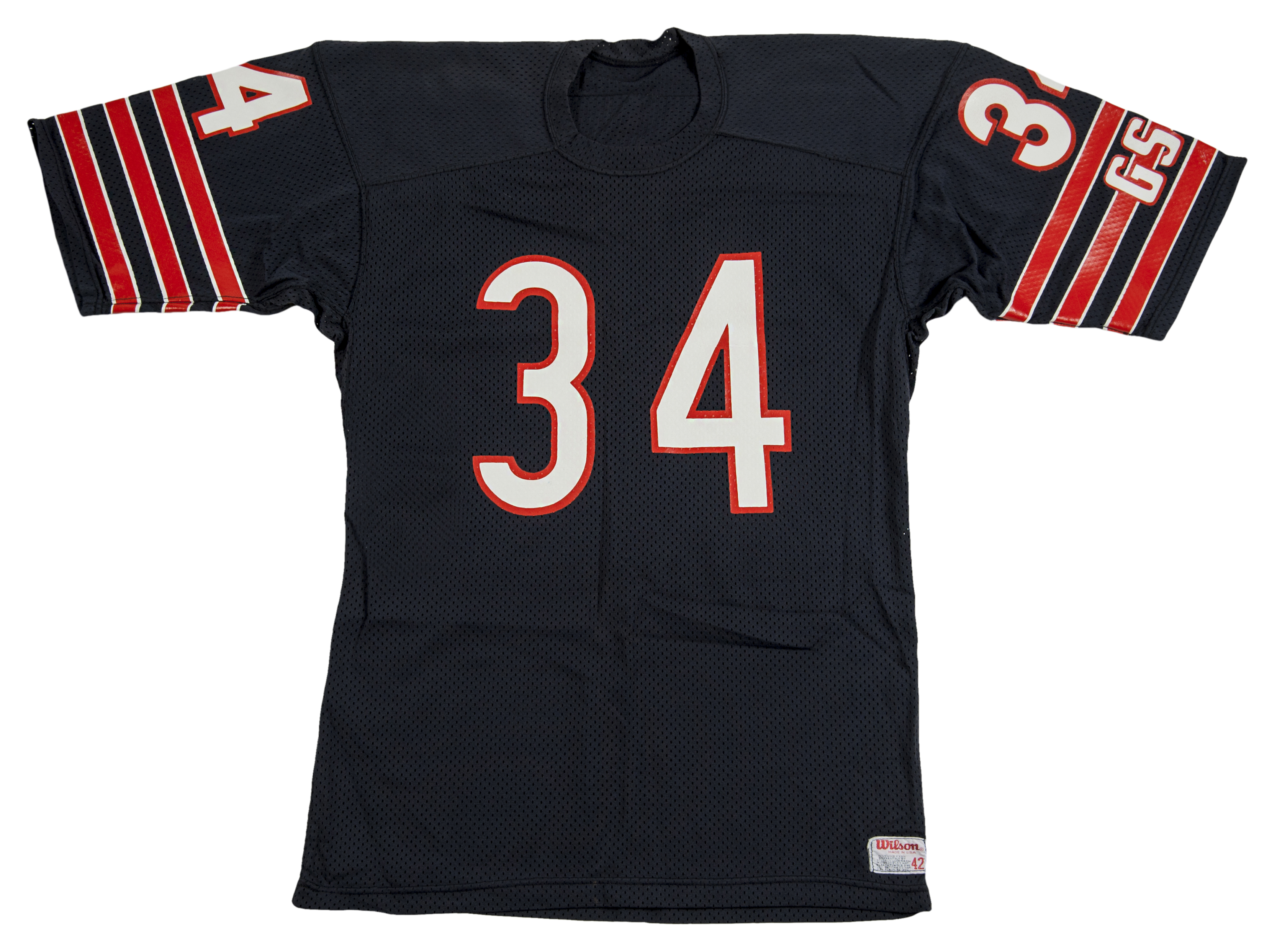 e5cfd363aca Lot Detail - 1984-1987 Walter Payton Game Used Chicago Bears Jersey (MEARS)