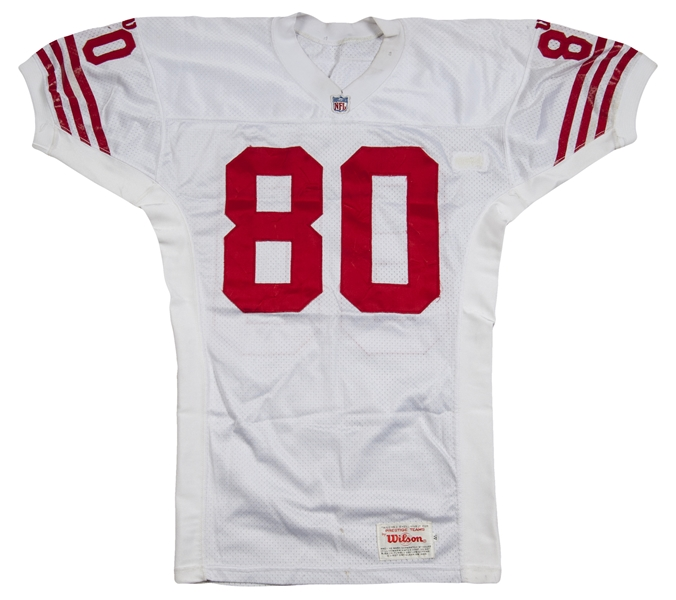 new style 4c610 9771f Lot Detail - 1994 Jerry Rice Game Used San Francisco 49ers ...