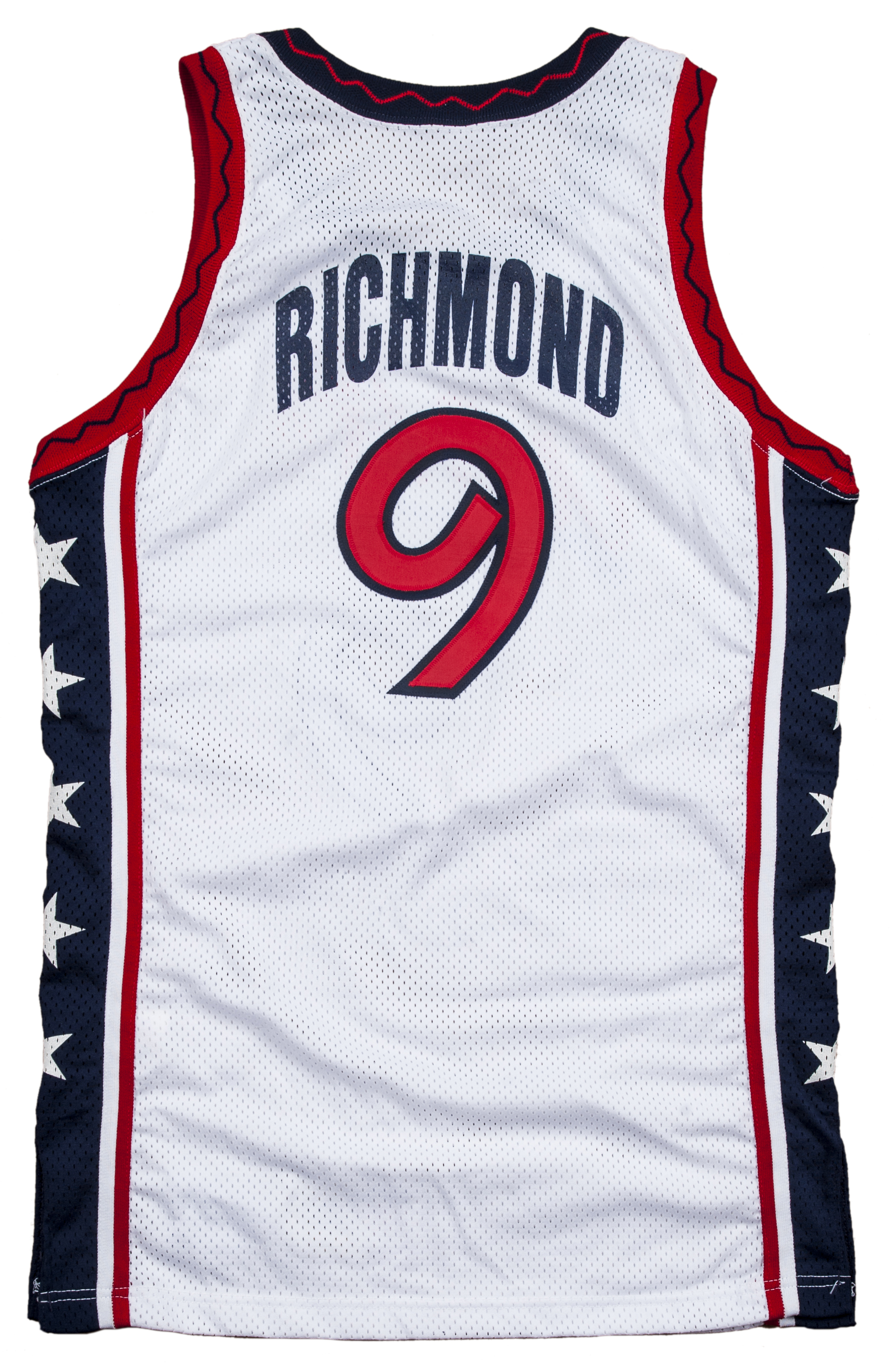 Lot Detail 1996 Mitch Richmond Game Used USA Olympic Basketball