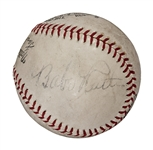 "1935 Babe Ruth Single Signed ""Sinclair Babe Ruth Baseball Contest"" Ball (PSA/DNA)"