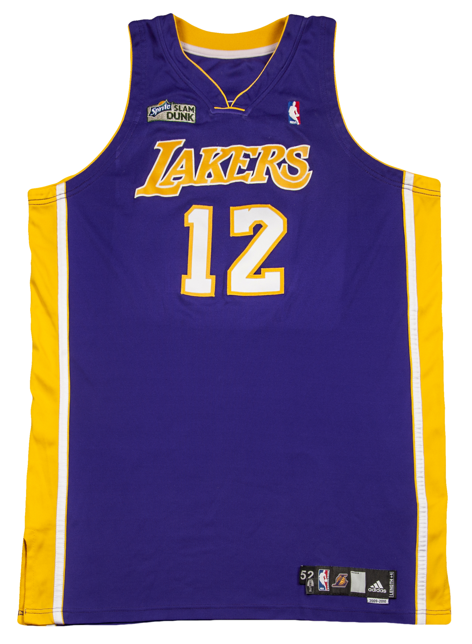 4e3474a36 Lot Detail - 2010 Shannon Brown Lakers Game Worn Slam Dunk Contest ...