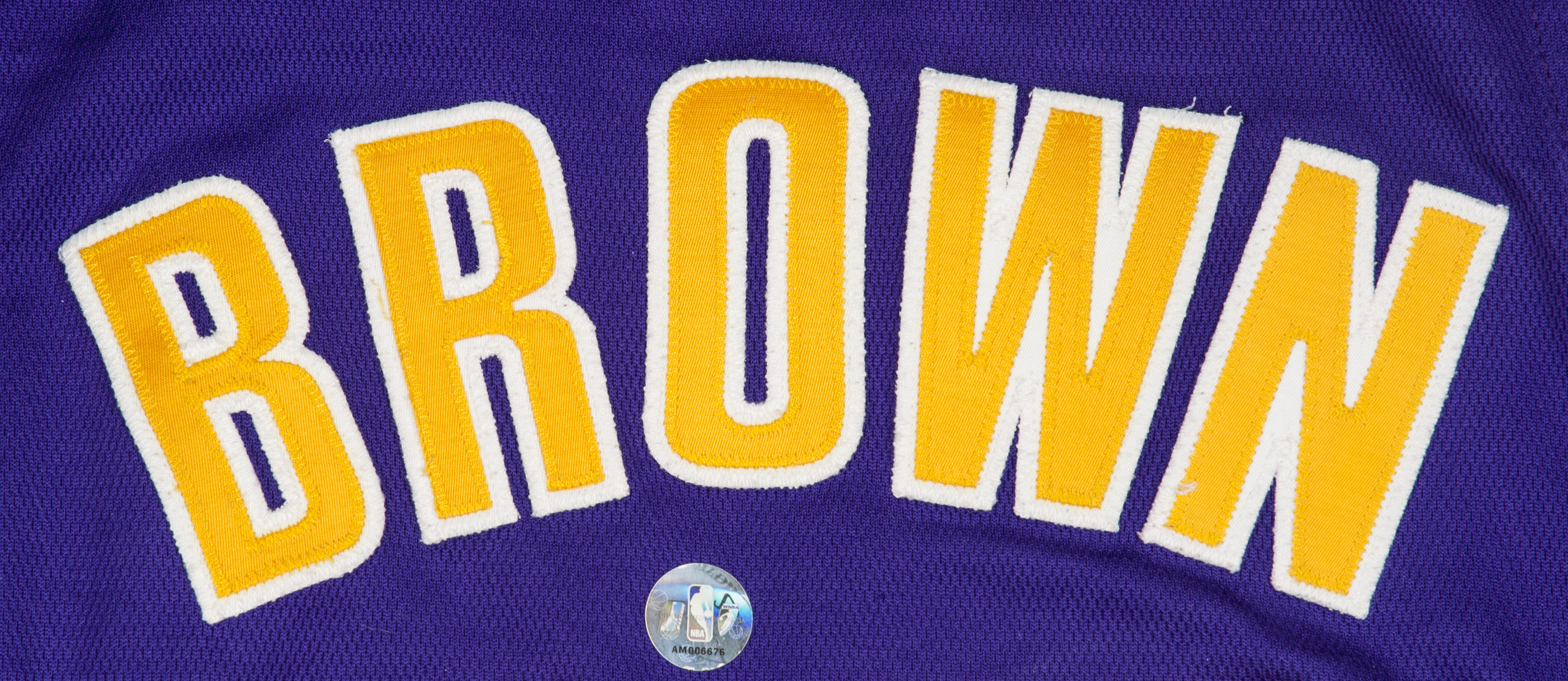 227628626 Lot Detail - 2010 Shannon Brown Lakers Game Worn Slam Dunk Contest Road  Jersey