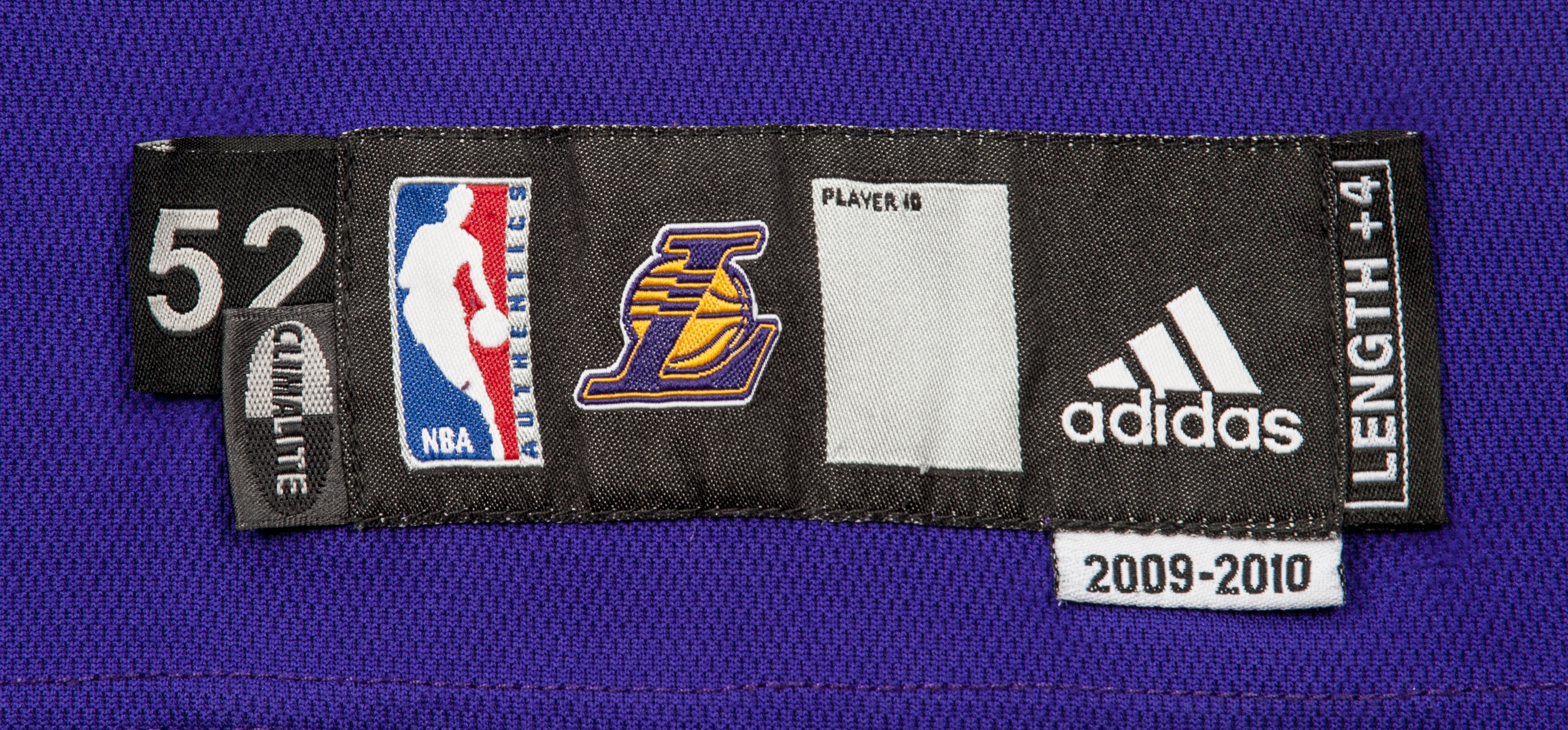 dcf7f87ac 2010 Shannon Brown Lakers Game Worn Slam Dunk Contest Road Jersey. Prev Next