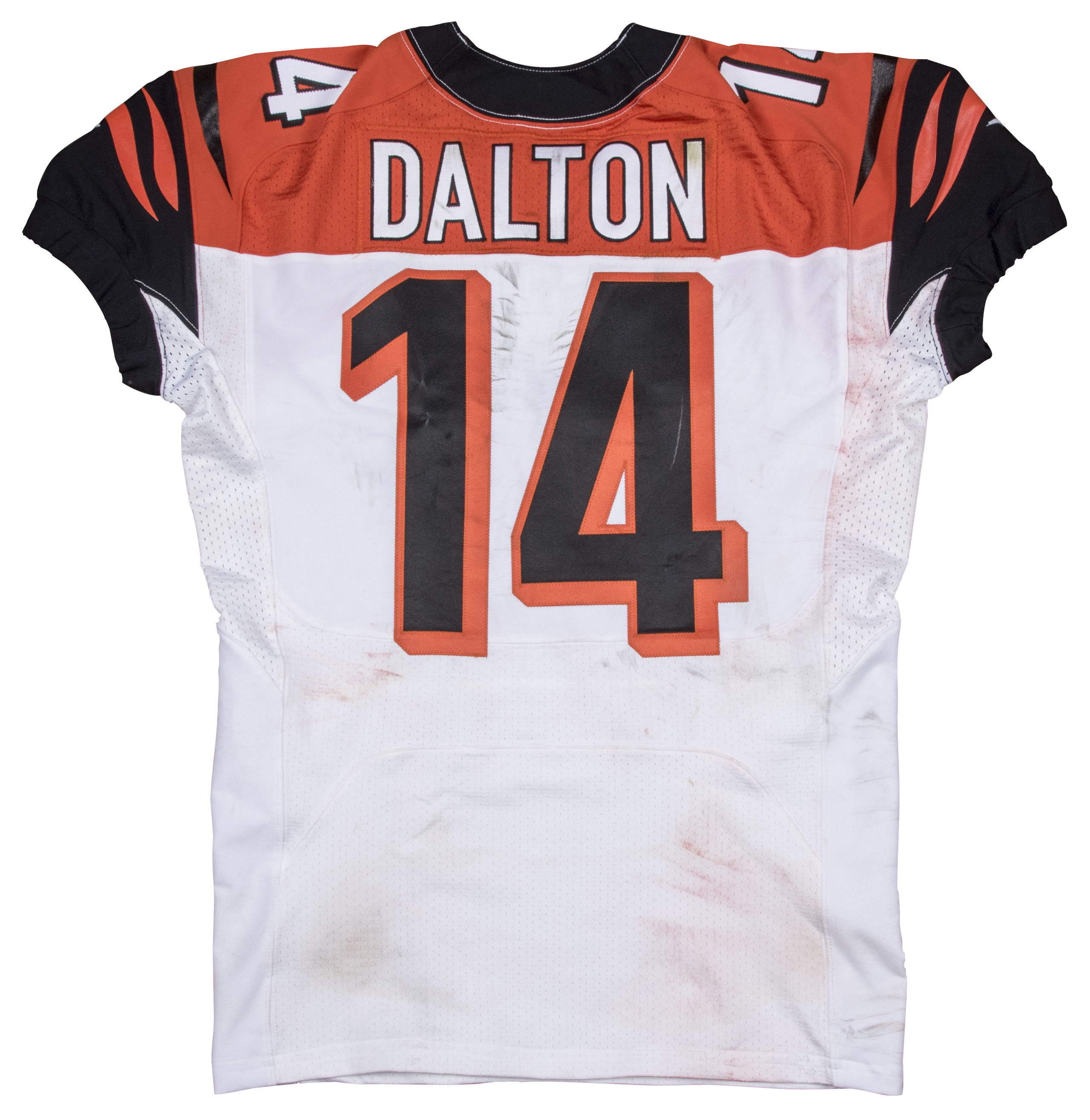 2014 Andy Dalton Game Used Cincinnati Bengals Road Jersey Worn On 11 30 14 ( Bengals Pro Shop) f21c04c65