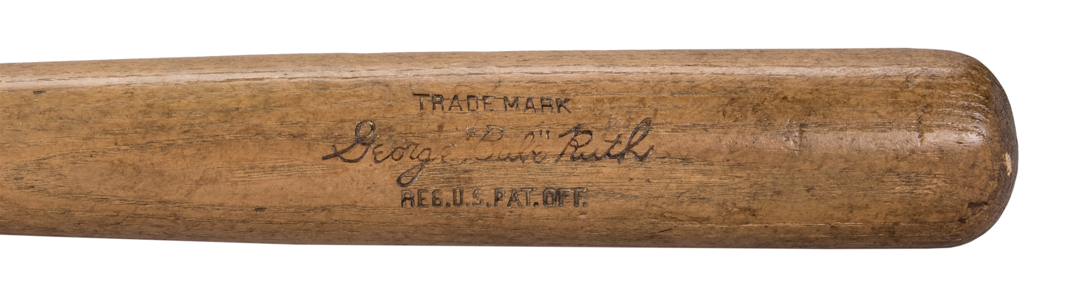 1923-25 Babe Ruth Game Used Hillerich & Bradsby Pre Model Bat (PSA/DNA & MEARS)