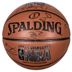 2015 NBA All-Stars Team Signed Basketball with 22 Signatures Including Duncan, Durant & Curry (JSA)