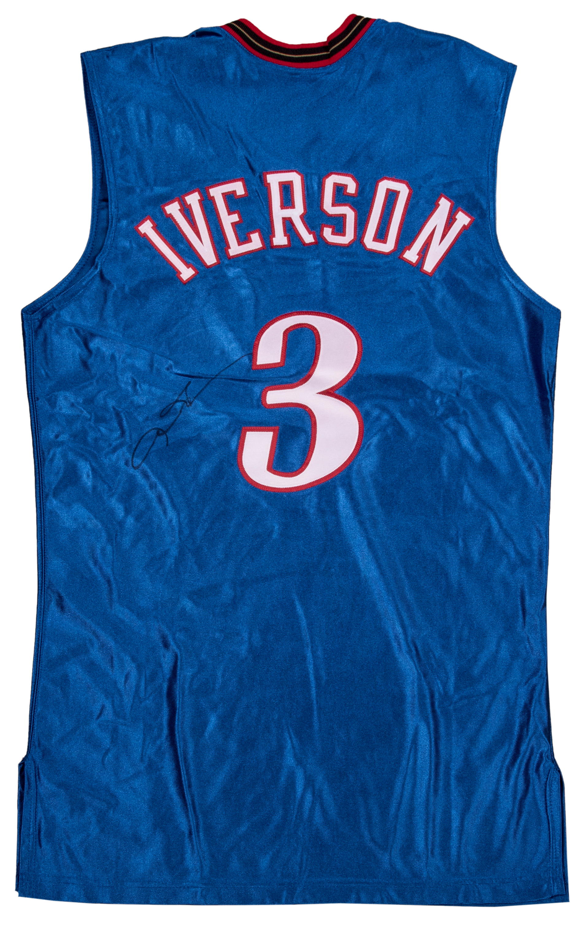 7653e4057 Lot Detail - 2002-03 Allen Iverson Game Used and Signed Inscribed Philadelphia  76ers Uniform - Jersey   Shorts (Iverson LOA)