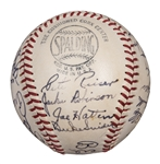 1948 Brooklyn Dodgers High Grade Team Signed ONL Frick Baseball (Erskines Personal Ball) With 27 Signatures Including Jackie Robinson, Campanella, Snider & Reese (JSA & Erskine LOAs)