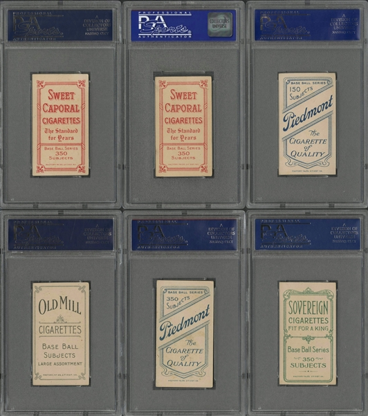 1909-11 T206 White Border PSA EX 5 Collection (179 Different) Including Many Hall of Famers