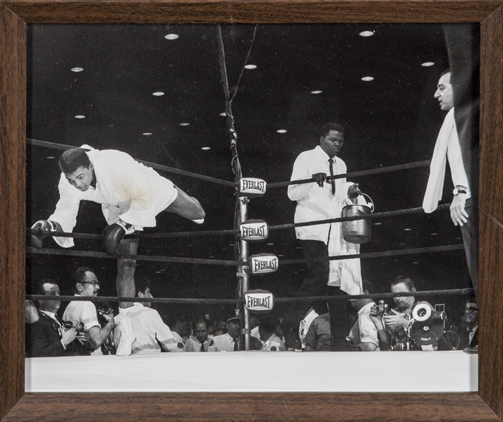 1964 Muhammad Ali (Cassius Clay)  Signed Fight Worn Robe Versus Sonny Liston In Their First Title Bout (PSA/DNA, JSA & WBC Authentication & Hamilton LOA)