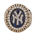 Don Zimmers 1998 New York Yankees World Series Champions Ring With The Original Presentation Box-Player Version! (Zimmer LOA)