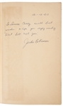 "1960 Jackie Robinson Autographed and Inscribed ""Wait Till Next Year - The Story of Jackie Robinson"" 1st Print Edition Book (JSA)"