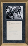 1945 Branch Rickey Signed Typed Letter To Detroit Tigers General Manager John Zeller On Brooklyn Dodger Letterhead -Historic Robinson Related Content(PSA/DNA)