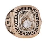 Ultra Rare 1960 Pittsburgh Pirates World Series Champions Players Ring Presented To Dick Schofield (Schofield LOA)