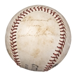 Jackie Robinson Autographed and Inscribed Baseball (PSA/DNA)