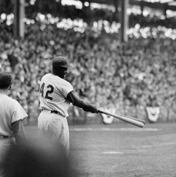 1955 Jackie Robinson World Series Game Used Louisville Slugger R115 Model Bat - Only World Series Title! (PSA/DNA & MEARS A9)