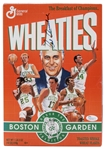 "Red Auerbach Autographed Wheaties ""Boston Celtics - Honor The Tradition"" Cereal Box (JSA)"