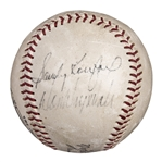 Sandy Koufax and Don Drysdale Vintage Dual Signed ONL Baseball (PSA/DNA)