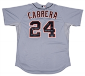 2012 Miguel Cabrera Game Used and Signed Detroit Tigers Road Jersey From Triple Crown Season! 9/28/12 (MLB Authenticated & Beckett)