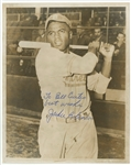 "Jackie Robinson Autographed and Inscribed ""To Bill Curtis Best Wishes Jackie Robinson"" 8x10 Photograph (PSA/DNA)"
