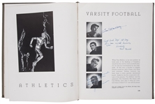 1938 Jackie Robinson Autographed and Inscribed Pasadena Junior College Yearbook (JSA)