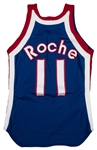John Roche 1974-75 Game Used ABA Kentucky Colonels Jersey