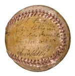 1946 Montreal Royals Team Signed Baseball With 24 Signatures Including Jackie Robinson (JSA)