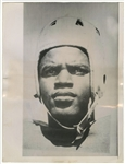 1945 Jackie Robinson Type IV Photograph of Robinson In Grid Uniform at UCLA - PSA/DNA