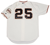 Barry Bonds Signed Authentic San Francisco Giants Home Jersey- Donated by Barry Bonds -100% Proceeds to JRF-(MLB Authenticated)