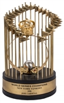 1998 New York Yankees World Series Trophy Presented To Jose Cardenal (Cardenal LOA)