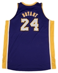2011 Kobe Bryant Game Used and Photo Matched Los Angeles Lakers Road Jersey Worn On 04/6/11 & 04/8/11 (MeiGray)