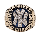 1977 New York Yankees World Series Champions Players Ring- Ken Clay