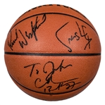 1993-94 Phoenix Suns Team Signed Offical Spalding Basketball With 12 Signatures (Beckett)