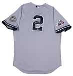 2009 Derek Jeter Game Used and Signed New York Yankees All Star Road Jersey (PSA/DNA & Steiner)