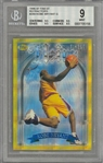 1996/97 Finest Refractors #269 Kobe Bryant Rookie Card – BGS MINT 9
