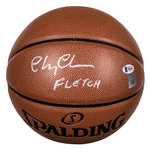 "Chevy Chase ""Fletch"" Autographed NBA Spalding Basketball (Beckett)"